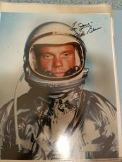 "Astronaut John Glenn Hand Signed Autographed Color Photo ""to Jane"