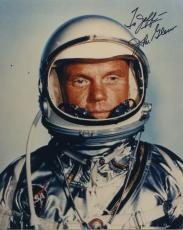 "Astronaut John Glenn Hand Signed Autographed Color Photo ""to Jeff"