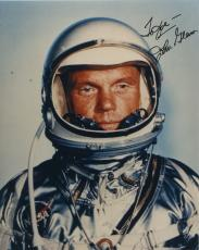 "Astronaut John Glenn Hand Signed Autographed Color Photo ""to Joe"