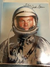 "Astronaut John Glenn Hand Signed Autographed Color Photo ""to Kim"
