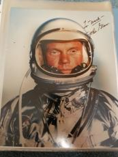"Astronaut John Glenn Hand Signed Autographed Color Photo ""to Mark"