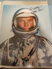 "Astronaut John Glenn Hand Signed Autographed Color Photo ""to Matthew"