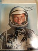 "Astronaut John Glenn Hand Signed Autographed Color Photo ""to Maureen"