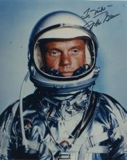 "Astronaut John Glenn Hand Signed Autographed Color Photo ""to Mike"