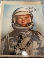 "Astronaut John Glenn Hand Signed Autographed Color Photo ""to Noelle"