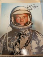 "Astronaut John Glenn Hand Signed Autographed Color Photo ""to Rich"