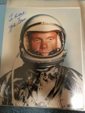 "Astronaut John Glenn Hand Signed Autographed Color Photo ""to Richard"