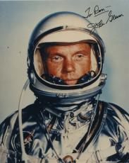 "Astronaut John Glenn Hand Signed Autographed Color Photo ""to Ron"