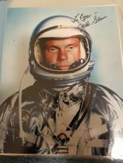 "Astronaut John Glenn Hand Signed Autographed Color Photo ""to Ryan"
