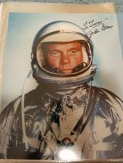 "Astronaut John Glenn Hand Signed Autographed Color Photo ""to Tina"