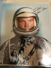 "Astronaut John Glenn Hand Signed Autographed Color Photo ""to Todd"