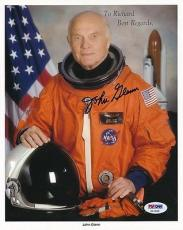 Astronaut John Glenn Signed 8x10 Photo Autograph Auto PSA/DNA Z11686