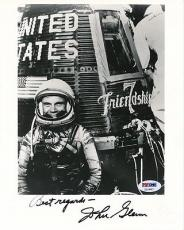 Astronaut John Glenn Signed 8x10 Photo Autograph Auto PSA/DNA Z11687