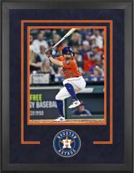 "Houston Astros Deluxe 16"" x 20"" Vertical Photograph Frame"