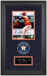 "Houston Astros Deluxe 8"" x 10"" Team Logo Frame - Mounted Memories"