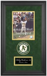 "Oakland Athletics Deluxe 8"" x 10"" Team Logo Frame - Mounted Memories"