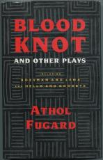 Athol Fugard Blood Knot Author Playwright Signed Autograph 1st Edition HB Book