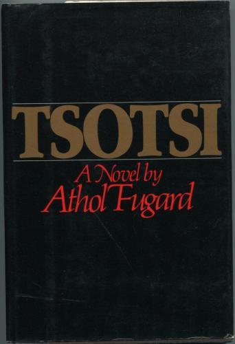 Athol Fugard Tsotsi Signed Autograph Hardcover 1st Edition Book