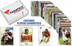 Atlanta Falcons Team Trading Card Block/50 Card Lot