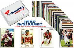 Atlanta Falcons Team Trading Card Block/50 Card Lot