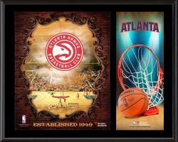 "Atlanta Hawks Sublimated 12"" x 15"" Team Logo Plaque"