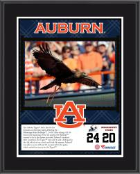 "Auburn Tigers Win Over Mississippi State Bulldogs Sublimated 10.5"" x 13"" Plaque"