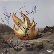 AUDIOSLAVE BAND Chris Cornell +3 Signed Album LP PSA/DNA #M01327