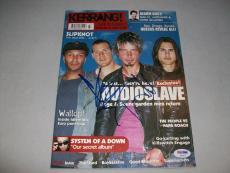 "AUDIOSLAVE signed autographed ""KERRANG"" MAGAZINE PSA/DNA LOA! CHRIS CORNELL"