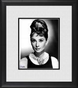 """Audrey Hepburn Framed 8"""" x 10"""" Classic Portrait Photograph"""