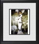 "Audrey Hepburn My Fair Lady Framed 8"" x 10"" in White Outfit Photograph"