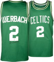 Red Auerbach Autographed Boston Celtics Jersey - PSA/DNA