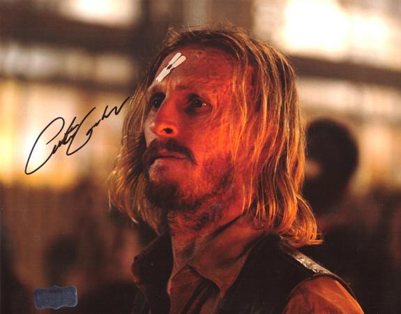 Austin Amelio Signed 8×10 The Walking Dead Forehead Bandage Photo