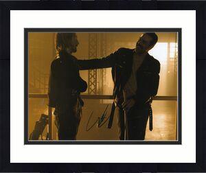AUSTIN AMELIO signed (THE WALKING DEAD) TWD 8X10 photo *DWIGHT* W/COA #8