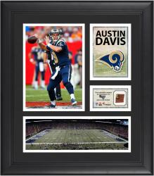 Austin Davis St. Louis Rams Framed 15'' x 17'' Collage with Game-Used Football