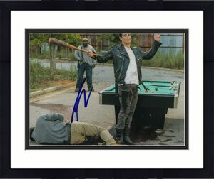 AUSTIN NICHOLS signed *THE WALKING DEAD* Spencer Monroe 8X10 photo W/COA TWD#1