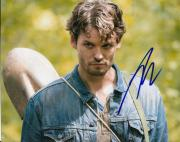 AUSTIN NICHOLS signed *THE WALKING DEAD* Spencer Monroe 8X10 photo W/COA TWD#3