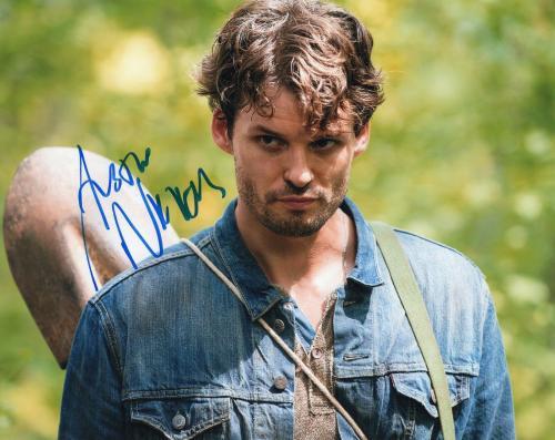 Austin Nichols The Walking Dead Spencer Monroe Signed 8x10 Photo w/COA #2