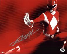 Austin St. John Power Rangers Signed 8X10 BAM BOX Exclusive Photo