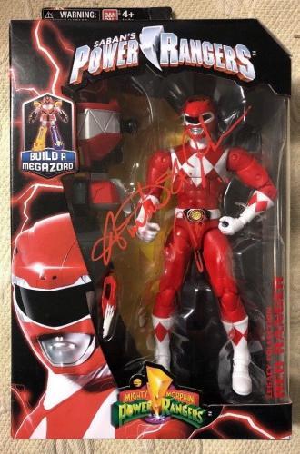 Austin St John Signed Red Ranger Power Rangers Legacy Figure BECKETT COA