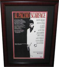Autographed Al Pacino Scarface PSA/DNA Signed Movie Poster