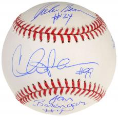Autographed Baseball with Multiple Signatures - Beckett COA