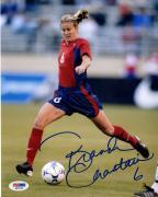 Autographed Brandi Chastain Photo - 8x10 PSA/DNA