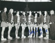 Autographed CATHY RUSH 8X10 Immaculata photo