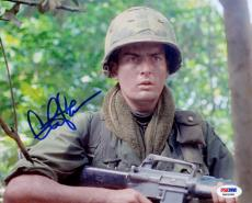 Autographed Charlie Sheen Photo 11x14 - PSA/DNA