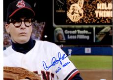 "Autographed Charlie Sheen Photo with ""Wild Thing"" Inscription 11x14 - PSA/DNA"