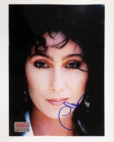 Autographed Cher 8x10 Photo - Entertainment