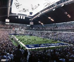 "Dallas Cowboys Autographed 20"" x 24"" Photo"