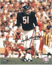 Autographed Butkus Picture - 8x10 Mounted Memories