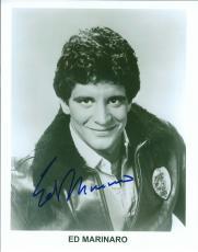 Autographed Ed Marinaro  8X10 Hill Street Blues Photo