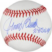 Johnny Bench Cincinnati Reds Autographed Baseball with MVP 70 & 72 Inscription